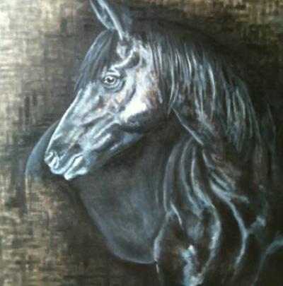 Peinture animali re marc legris les autres animaux for Peinture sur fer a cheval