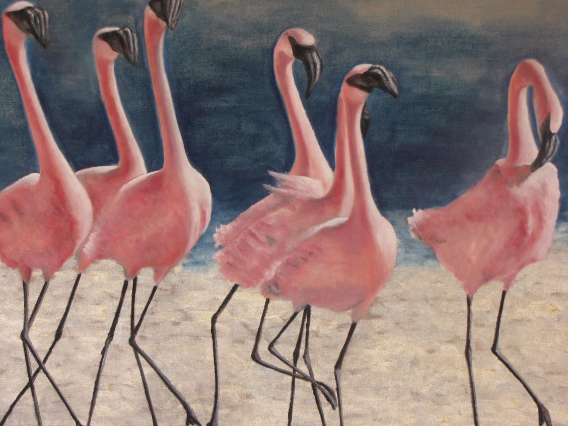 Peinture animalière - Marc Legris - Plumes 1