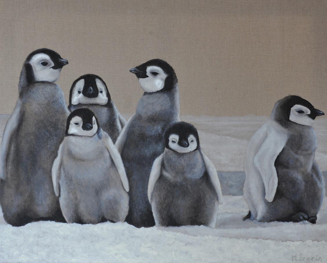 peinture animali re marc legris les animaux du p le 1. Black Bedroom Furniture Sets. Home Design Ideas