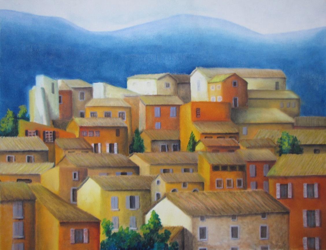 Peinture paysages marc legris cit s for Peinture du liberon